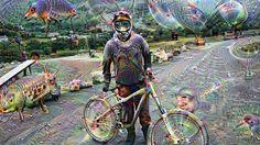 Revolution bike park #dreamscope #deepdream #downhillmountainbiking #dh #downhillmtb #mtb #revolutionbikepark #weird #creepy #animals by instacam_1992