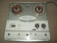 Vintage Webcor Royalite Reel to Reel Tape Recorder Model # EP-2001- 1 Tube Amp #WEBCOR