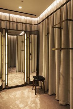 Nulty - Selfridges Body Studio, London - Stylish Elegant Lighting Design Fitting Room