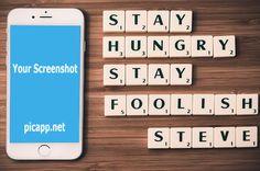 Free Image on Pixabay - Apple, Steve Jobs, Quotes, Scrabble White Iphone, Free Iphone, Steve Jobs, Scrabble, A Table, Mockup, Apple, Quotes, Image