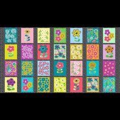 We love this floral pattern from the Cutting Garden collection by Kim Schaefer for @andoverfabrics! Available January 2016!  #floral #flower #flowers #flowerstagram #garden  #quilt #quilts #quilting #sew #sewing #craft #crafting #diy #fabric #crafts #patchwork #quilter #stitch #cotton #decor #homedecor #apparel #fashion #creativity #creative