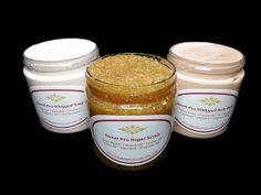 Sweet Pea Bath and Body Gift Set Whipped Soap by SimpleHomeAccents, $24.75