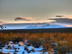 Snow in the desert south of Las Vegas. Diy Rv, Royalty Free Photos, Las Vegas, Snow, Mountains, Nature, Travel, Naturaleza, Viajes