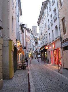 Rue Labistour, Foix, France