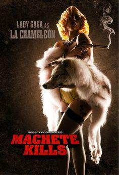 Machete Kills: Lady Gaga debut as La Chameleon