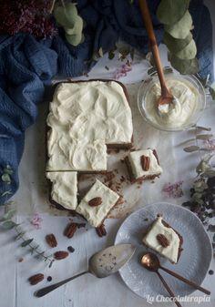 Este bizcocho especiado de zanahorias os encantará, no os perdáis la receta en nuestro blog Camembert Cheese, Dairy, Blog, Carrots, Custard, Recipe, Chocolate Chips, Sour Cream, Blogging