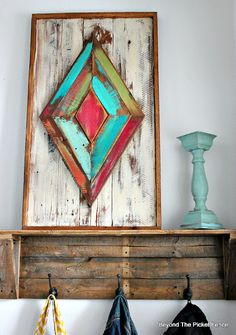 Reclaimed Wood Art - Beyond the Picket Fence