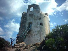 Torre di Chia, Domus De Maria, Sardegna, Sardinia