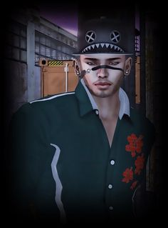 Fashion Stylez Of Secondlife: RyanTailor`s #152 - He works hard for the money