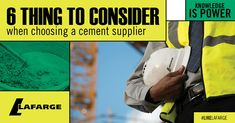 Whether you are building something at home or working on a big construction project, using the right cement supplier will make a big difference.