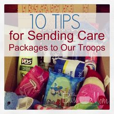 10 Tips for Sending Care Packages to Our Troops