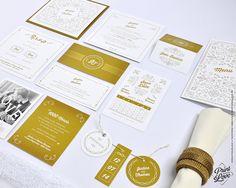 """Papeterie de mariage de la collection """"Majestic"""". Disponible ici : http://www.alittlemarket.com/boutique/printyourlove"""
