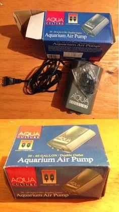 Pet Supplies New Reasonable Hawkeye Aqt 201 Aquarium Air Pump