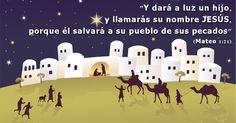 La historia de la Navidad nos recuerda que Dios se hizo hombre para venir a salvarnos de nuestros pecados. ¡Feliz Navidad!