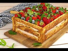 Torta cassetta di frutta: una torta originale e gustosa! - YouTube