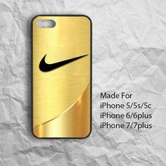 Nike Gold Logo Just do it iPhone Case 6/6plus,7/7plus #UnbrandedGeneric #Nikelogo #nikeGold #nikecase #iphonecase #iPhone7case #ipone7 #iPhone7plus
