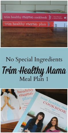 Trim Healthy Mama Meal Plan 1.  No special ingredients. - We Got Real