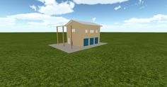 Cool 3D #marketing http://ift.tt/290cwf5 #barn #workshop #greenhouse #garage #roofing #DIY