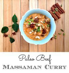 Paleo Beef Massaman Curry   #PP30
