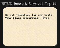 S.H.I.E.L.D. Recruit Survival Tip #4: by Lady-Mitsuki-Sieon on deviantART