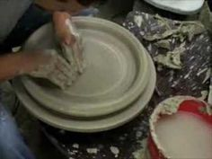 Fast plates pottery - YouTube