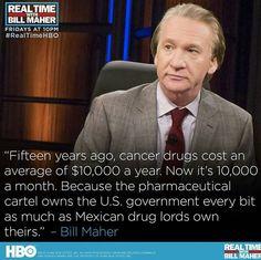 Bill Maher. Medical Mafia