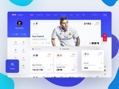 bwin by Slava Kornilov for Geex Arts on Dribbble Web Dashboard, Ui Web, Dashboard Design, Dashboard Template, Responsive Web, Mobile Ui Design, Web Ui Design, 2020 Design, Flat Design