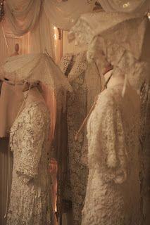 Sheelin Antique Irish lace Museum. Irish Crochet Lace Gowns