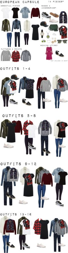 European Capsule 14 pieces one suitcase by krystenpinol on Polyvore featuring Ally Fashion, Madewell, Vince, Sweaty Betty, J.Crew, Maison Scotch, Yves Saint Laurent, Diane Von Furstenberg, Billabong and NIKE