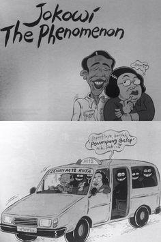 "Mice Cartoon: Sang Fenomena (Dari buku ""Politik Santun Dalam Kartun"")"