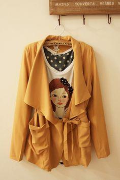 2012 Korean women Lady long sleeve slim coat large zip around wallet small coat