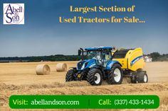 Looking to buy used farm tractors? Over Five generations Abell & Son helps you with all your equipment needs. You can find all types of used tractors from New Holland, Kubota, Versatile, Mahindra, Bush Hog, Kuhn – Krause, Land Pride and King Kutter. For more info, Call: (337) 433-1434 or visit: http://abellandson.com/