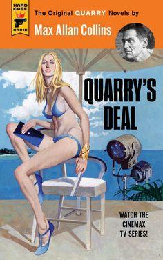 """Quarry's Deal - Cover art by Robert McGinnis - Board """"Art - Robert McGinnis"""" -"""