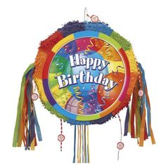 Brilliant Birthday 18 Pull-String Pinata Party Accessory - Listing price: $33.90 Now: $23.99