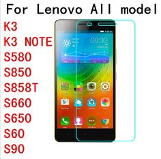 Screen Protector 2.5D Tempered Glass for Lenovo A328 S580 S60T S650 S660 S850 S858T K3 K3NOTE P70 S90 Explosion-proof Protective