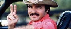 Burt Reynolds and his moustache want to say hello Moustaches, Movie Stars, Movie Tv, Smokey And The Bandit, Raining Men, Nerd, Director, Great Movies, Famous Faces