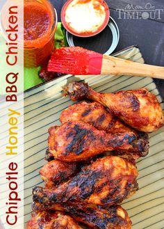Chipotle Honey Barbecue Chicken | Pasión por la Cocina..... | Scoop.it