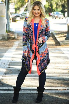 Spring Is Almost Here Cardigan: Multi #shophopes
