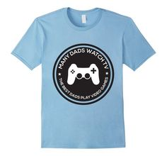 Many Dads Watch TV The Best Dads Play Video Games T-Shirt  Get yours here-> https://www.amazon.com/dp/B01BPEUBDA
