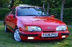 Ford Sierra, Ford Rs, Car Ford, Classic Motors, Classic Cars, Ford Escort, Henry Ford, Ford Motor Company, Retro Cars