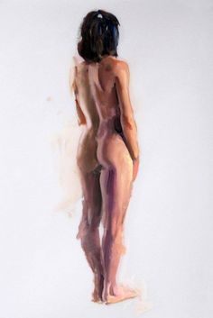 """Figure #3 (12"""") by Eric Bowman. """"I like to break up the contour line of an otherwise static pose; this helps give it more life and believability. Realistic subject matter can often appear even more so with a little manipulation of edges (soft, hard, lost, etc.)"""""""