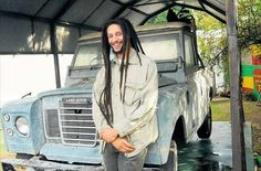 Julian Marley front of the Series 3 pickup