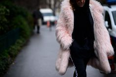Bold, Colorful Fur Is the Perfect Remedy for a Dreary Winter Day Photos | W Magazine