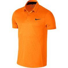 Nike MM Fly Swing Knit Men's Modern Fit Golf Polo in Vivid Orange as seen on Rory McIlroy