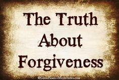 the truth about satanism   You see, I discovered the truth about forgiveness. We say the Bible ...