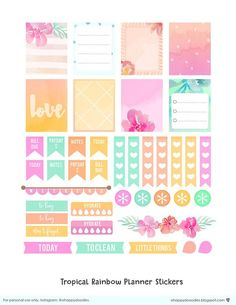 I made another planner stickers to share. These are designed for Erin Condren Planners but you could actually use these too for. To Do Planner, Free Planner, Planner Pages, Happy Planner, 2017 Planner, Planner Ideas, Journal Stickers, Printable Planner Stickers, Free Printables