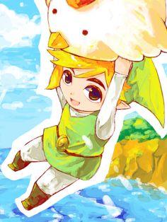 Legend of Zelda~ this is adorable! ^0^