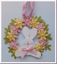 Paper Bliss Bunny embellishments