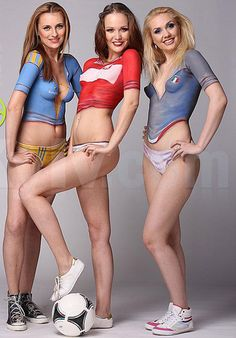 . Body Painting, Woman Painting, Euro 2012, European Championships, Football Pictures, Model Body, Body Art, Ukraine, Cosplay