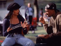 """11 Black Hairstyles From the '90s That We Will Never Forget-janet jackson """"box braids"""""""